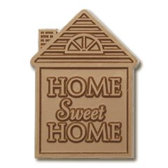 50 HOUSE SHAPE Home Sweet Home Engraved Chocolate Corporate Tradeshow Giveaways