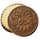 50 WOW Engraved Chocolate Covered Cookies Corporate Tradeshow Giveaways