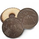 50 HALLOWEEN Engraved Chocolate Covered Cookies Corporate Tradeshow Giveaways