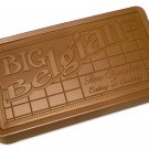 Big Belgian 5 lb. Milk Chocolate Bar Engraved for Clients or as a Gift