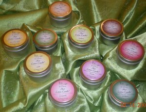 A Bit of Heaven Soy Wax Massage Oil Candle