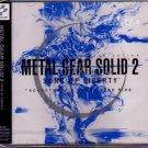 METAL GEAR SOLID 2 GAME MUSIC CD NEW 2 JPN ORIGINAL VER
