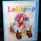 LOLLIPOP 1ST DRAWING WORKS POP JAPAN ANIME ART BOOK NEW