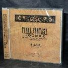FINAL FANTASY SONG BOOK MAHOROBA GAME MUSIC CD NEW JPN