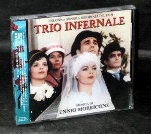 ENNIO MORRICONE IL TRIO INFERNAL MOVIE SOUNDTRACK CD