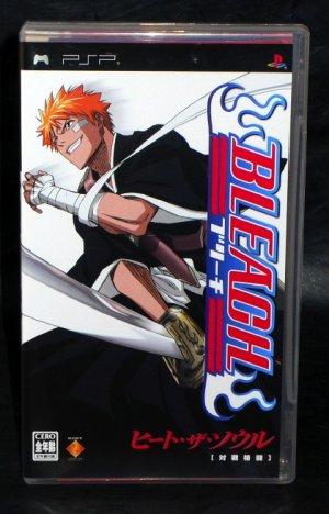 BLEACH HEAT THE SOUL 1 PSP ANIME ACTION FIGHT GAME JPN