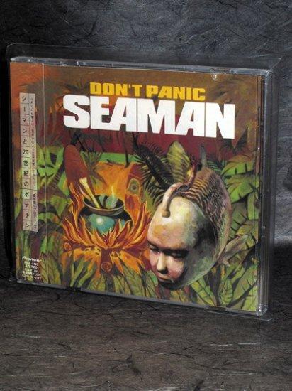 Seaman Don't Panic Japan Sega DREAMCAST GAME MUSIC CD