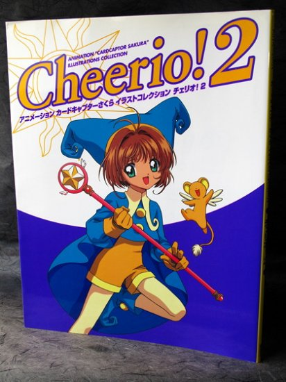CARD CAPTOR SAKURA CHEERIO 2 ANIME ART BOOK