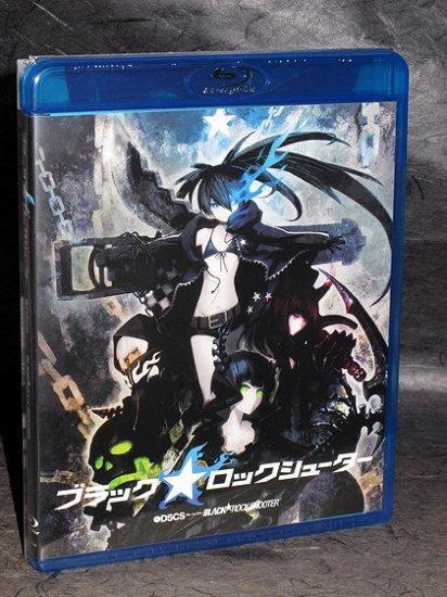 Black Rock Shooter Blu-ray Japan Anime English Subs