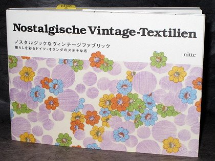 Germany and Holland Retro Fabric Pattern Design Book