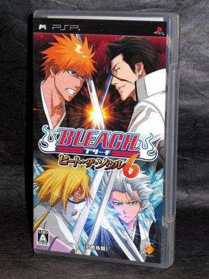 BLEACH HEAT THE SOUL 6 SONY PSP GAME JAPAN IMPORT