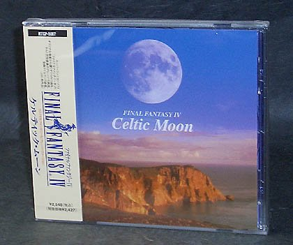 FINAL FANTASY IV CELTIC MOON JAPAN VERSION MUSIC CD NEW