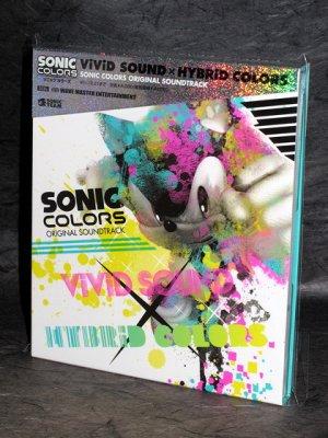 Sonic Colors Soundtrack Vivid Sound x Hybrid Music CD
