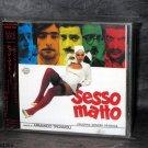 Armando Trovaioli Sesso Matto JAPAN Soundtrack Music CD