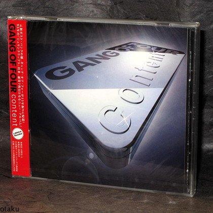 Gang Of Four Content JAPAN CD 5 Extra BONUS TRACKS NEW