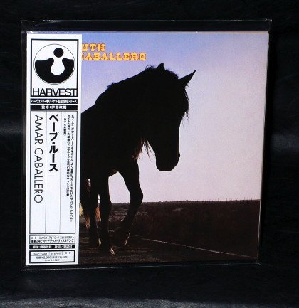 BABE RUTH AMAR CABALLERO JAPAN CD MINI LP SLEEVE TOCP-70351 NEW