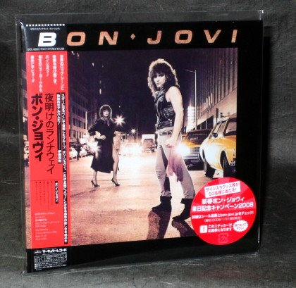 BON JOVI SELF TITLED 1ST ALBUM Japan CD MINI LP Sleeve MUSIC UICL-93001 NEW