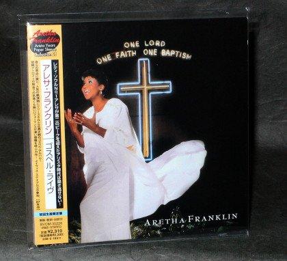 ARETHA FRANKLIN ONE LORD FAITH BAPTISM Japan CD MINI LP Sleeve BVCM-35226 NEW