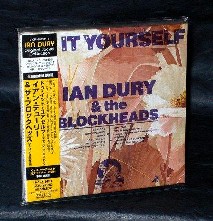 IAN DURY DO IT YOURSELF Japan ROCK CD MINI LP SLEEVE VICP-64053 NEW