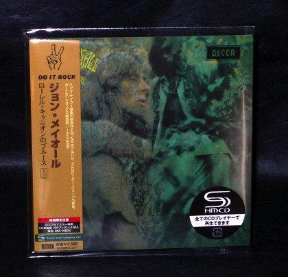 JOHN MAYALL BLUES BREAKERS BLUES LAUREL CANYON CD Japa LP Sleeve UICY-93410