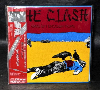 THE CLASH GIVE'EM ENOUGH ROPE Sleeve CD MINI LP SLEEVE MHCP-521 NEW