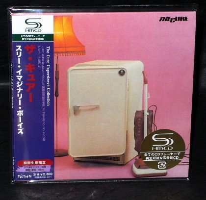 THE CURE THREE IMAGINARY BOYS CD MINI LP Sleeve JAPAN UICY-93477 NEW