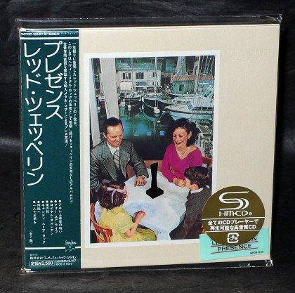 LED ZEPPELIN PRESENCE LP SHM CD LTD ED JAPAN WPCR-13137 IMPORT NEW