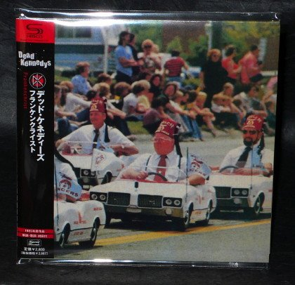 DEAD KENNEDYS FRANKENCHRIST JAPAN SHM-CD MINI LP Sleeve TECI-26495 NEW
