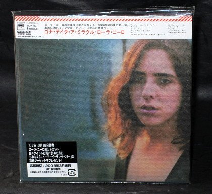 LAURA NYRO GONNA TAKE A MIRACLE JAPAN CD MINI LP Sleeve SICP-1627 NEW