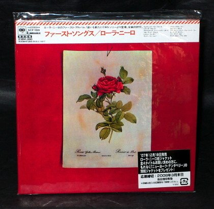 LAURA NYRO THE FIRST SONGS JAPAN CD MINI LP SLEEVE SICP-1624 NEW