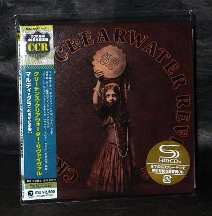 CREEDENCE CLEARWATER REVIVAL MARDI GRAS Japan SHM CD MINI LP UCCO-9199 NEW