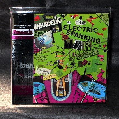 FUNKADELIC ELECTRIC SPANKING OF WAR BABIES Japan CD LP Sleeve VICP-70105 NEW