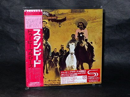 THE DOOBIE BROTHERS STAMPEDE JAPAN SHM CD MINI LP Sleeve WPCR-13657 NEW