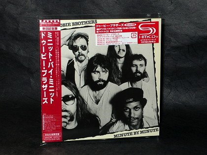 DOOBIE BROTHERS MINUTE BY MINUTE Japan SHM CD MINI LP Sleeve WPCR-13660 NEW