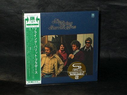 Flying Burrito Brothers 1971 Debut Album MUSIC CD MINI LP SLEEVE UICY-94245 NEW