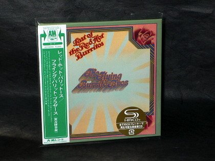 Flying Burrito Brothers The Last Of Red Hot Burritos Japan CD Mini LP Sleeve NEW
