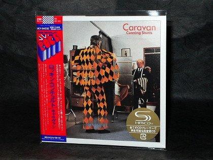 Caravan Cunning Stunts JAPAN SHM CD MINI LP SLEEVE UICY-94332 OOP NEW