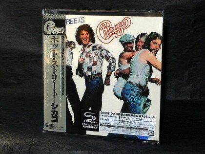 CHIGAGO 12 XII HOT STREETS JAPAN MUSIC SHM CD Mini LP Sleeve WPCR-13784 NEW