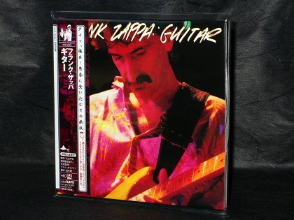 Frank Zappa Guitar JAPAN CD MINI LP SLEEVE Live Guitar Solo VACK-1345~46 NEW