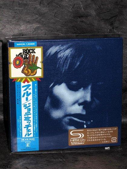 Joni Mitchell Blue JAPAN SHM CD mini LP sleeve WPCR-14096 NEW