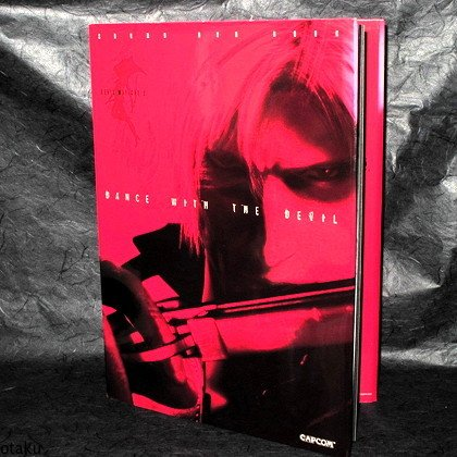 Devil May Cry 2 Sound DVD Book Dance With The Devil Japan PS2 Game Art Book