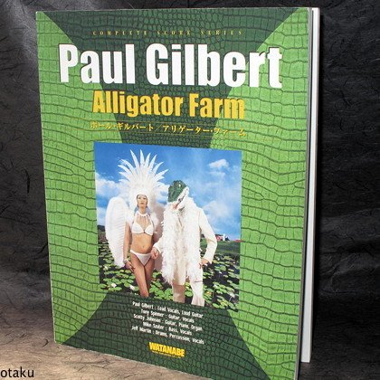 Paul Gilbert Alligator Farm Japan Guitar TAB Band Score