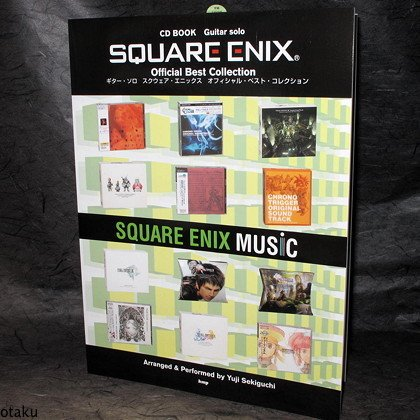 Square Enix Best Guitar Solo Score Book and CD NEW