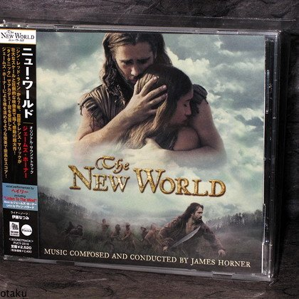 James Horner The New World Japan Movie Soundtrack CD