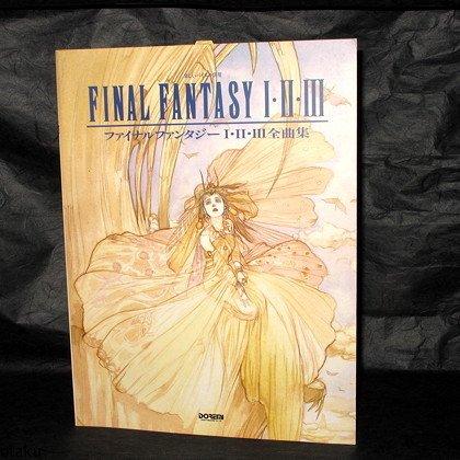 Final Fantasy I II III Score PIANO MUSIC SCORE BOOK NEW