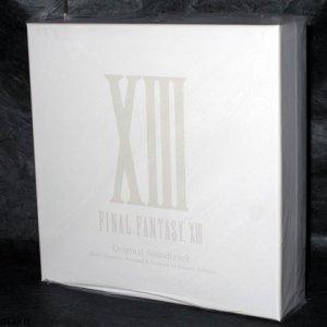 Final Fantasy XIII Original Soundtrack Japan 5 CD 1st Limited Edition Box Set