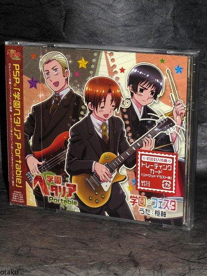Gakuen Hetalia Portable PSP Opening Ending theme CD NEW