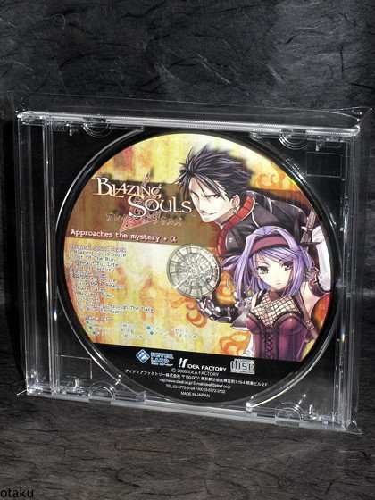 Blazing Souls PS2 RPG Japan Game Music CD Soundtrack
