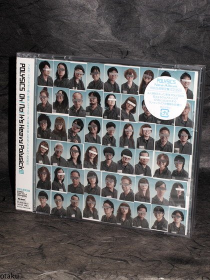 POLYSICS Oh No It's Heavy Polysick Japan MUSIC CD NEW