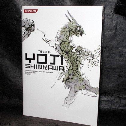 Art of Yoji Shikawa Zone of Enders Game Art Book NEW